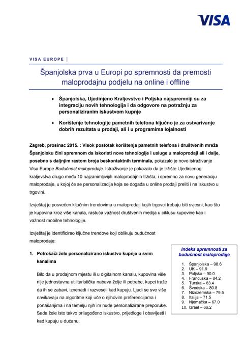 Priopćenje za medije_Španjolska prva u Europi po spremnosti da premosti maloprodajnu podjelu na online i offline