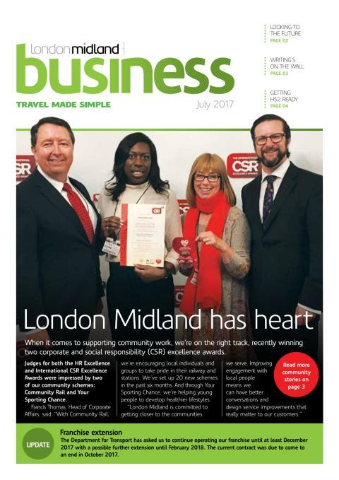 London Midland Business July 2017