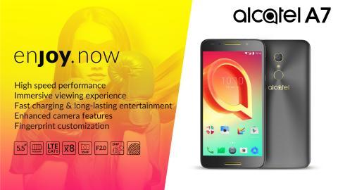 Produktblad Alcatel A7