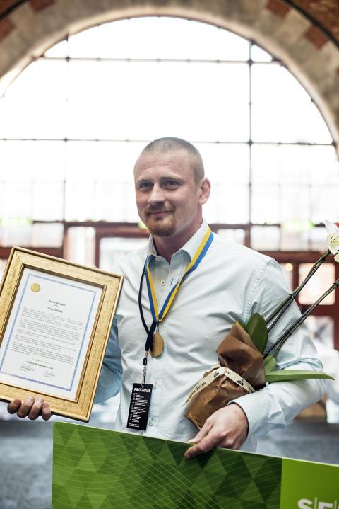 Årets plåtslagare 2015 – Tony Ahltén prisas för stort yrkeskunnande och hög kunskapsnivå