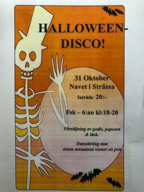 Stråssa: Halloween-disco