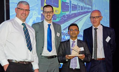 London Midland also won a bronze spanner for its Class 323 fleet