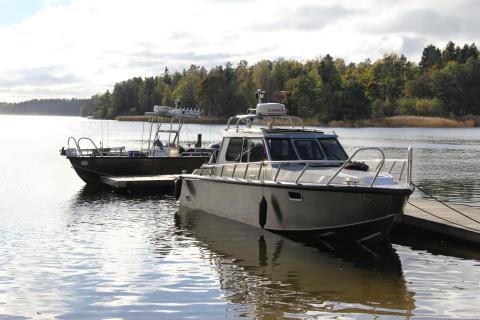 Alukin Pro Fishing och SCR 850