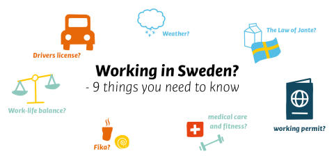 9 things you need to know when working in Sweden!