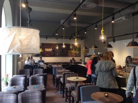 Skandinaviens ledande cafékedja, Wayne´s Coffee, utökar med nytt café i Kristianstad