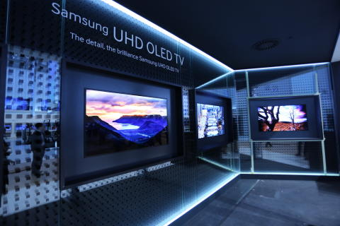 Samsung unveils UHD OLED TV at IFA 2013