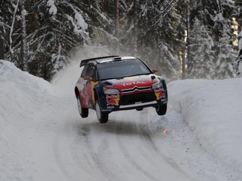 Loeb test inför Rally Sweden 2010