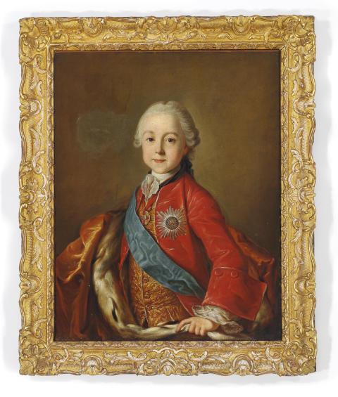 Portræt af Zar Paul I af Rusland