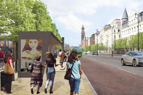 Vi testar Drottninggatans och Järnvägsgatans nya utseende