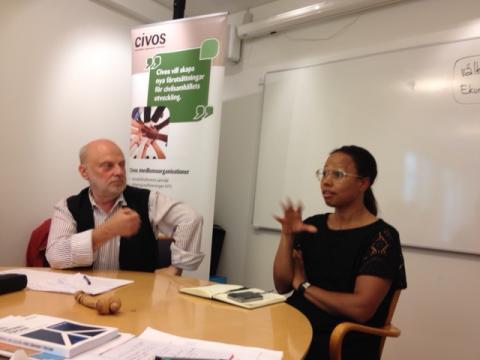 Spännande samtal på Civos årsmöte