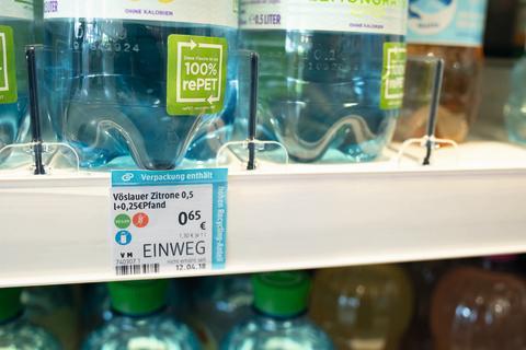 Regalkennzeichnung dm Kampagne Kreislaufwirtschaft
