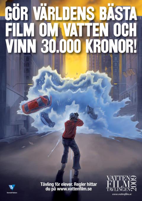 Vattenfilmtävlingen 2009 – en succé!