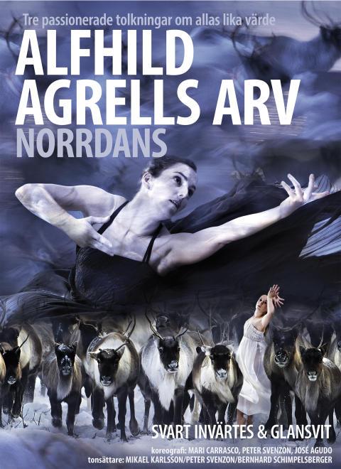 Norrdans med Alfhild Agrells Arv till Jämtland