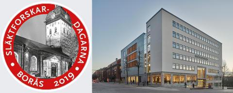 Släktforskardagarna 2019 på Borås Kongress!