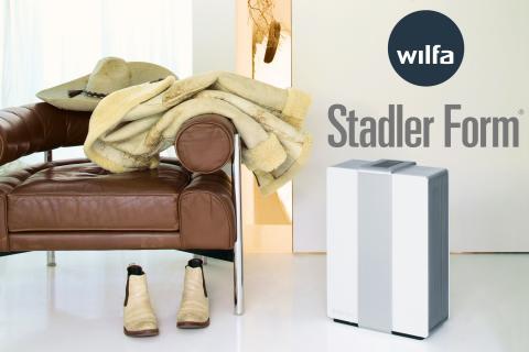 WILFA blir exklusiv distributör i Skandinavien för schweiziska Stadler Form vars produkter förbättrar inomhusluft och klimat.