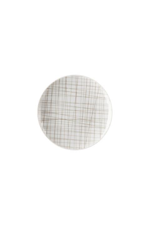 R_Mesh_Line Walnut_Plate 15 cm flat