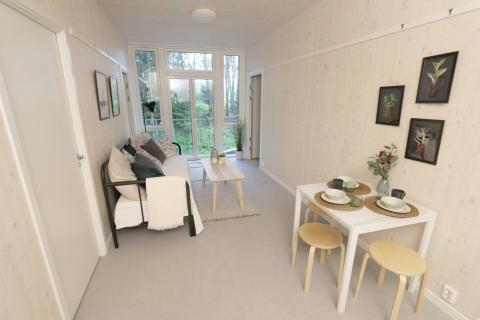 Student family flats Kringsjå