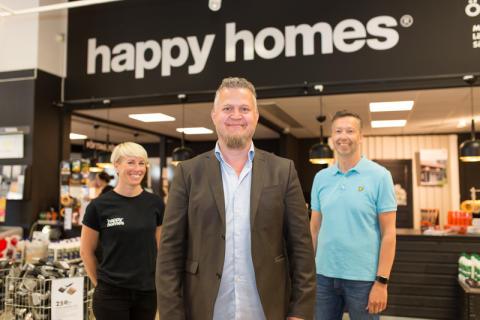Ny VD till Happy Homes i Skellefteå och Umeå