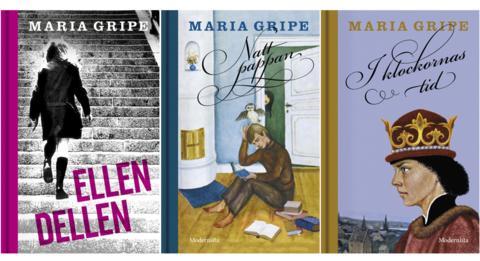 3 x Maria Gripe – med originalillustrationer – i butik nu