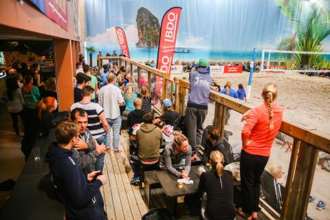 Beachvolley seriefinal 3:3