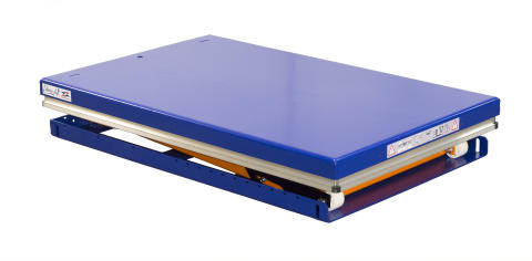 EdmoLift Lyftbord enkelsax TL 2000 nedfälld