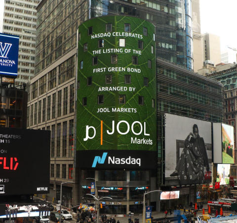 JOOL contributes to first bond listing on the Nasdaq First North Sustainable Bond Market