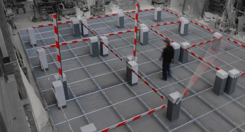 Invigning av konstverket Obstruction på Stortorget i Malmö