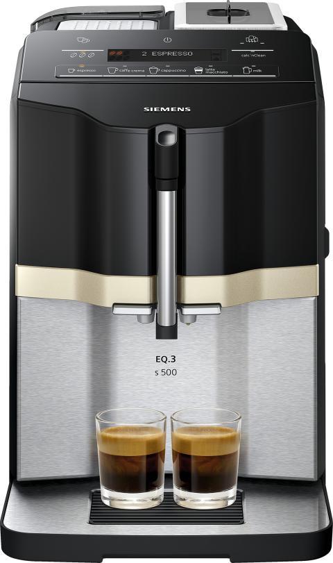 Kompakt kaffefröjd utan omvägar – Siemens lanserar ny espressomaskin i EQ-serien