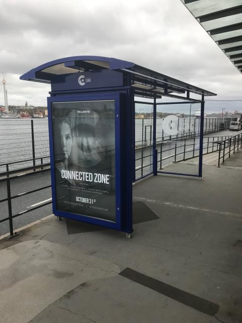 teleste City 90 med digital skärm