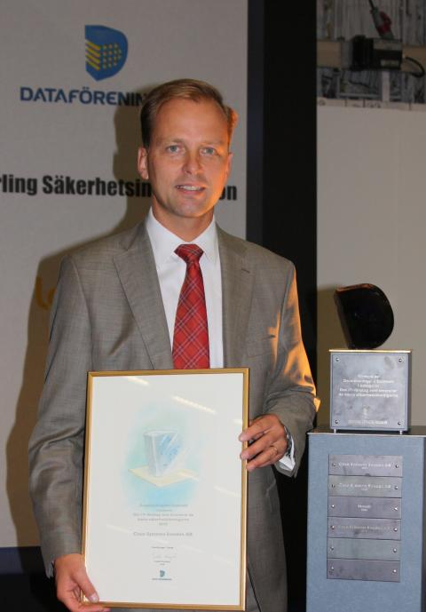 Cisco vann Dataföreningens Diamantenpris för tredje året