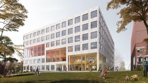 Förlag Utforskaren, arkitekttävling universitetsbiblioteket