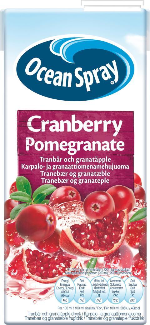 Ocean Spray Cranberry Pomegranate