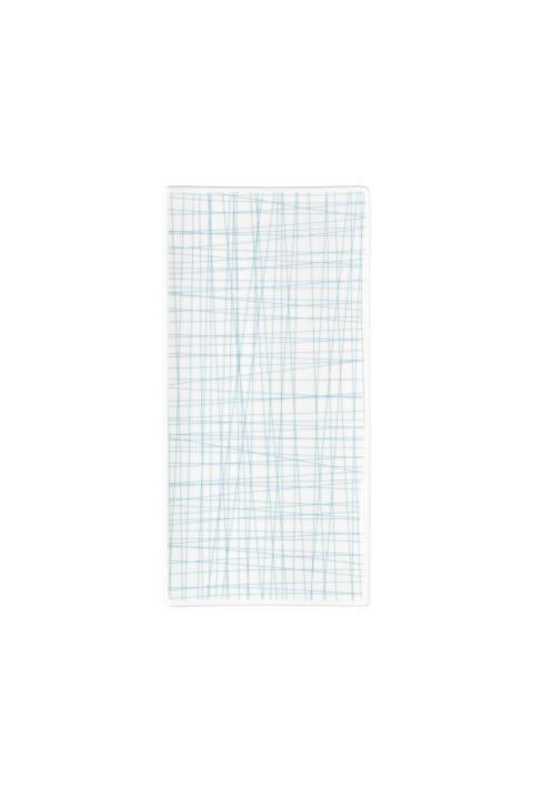 R_Mesh_Line Aqua_Platte 26 x 13 cm flach