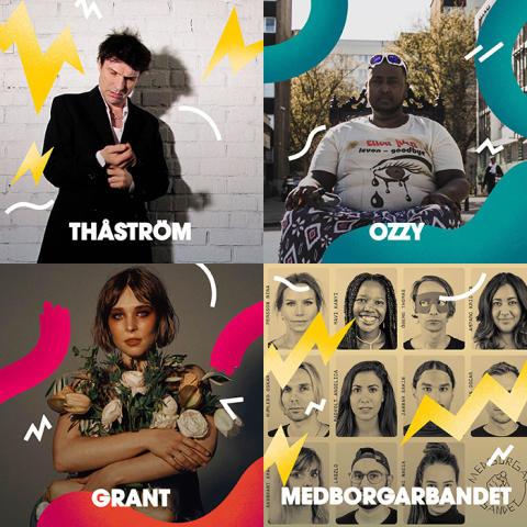 Sista musikakterna klara för Malmöfestivalen!