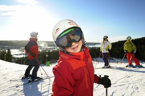 På slalom i Ulricehamn