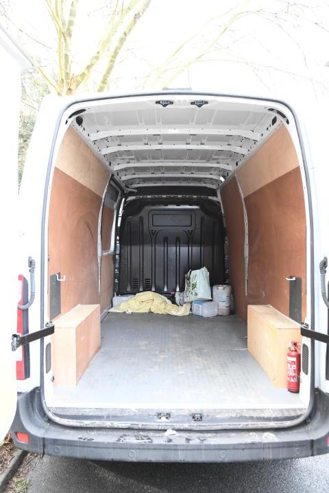 6 van driven by Murphy