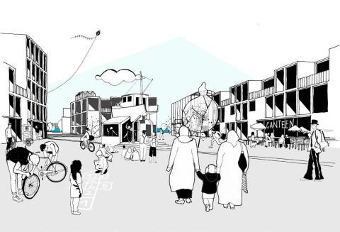 Temporära bostäder i Frihamnen - nu inleds ansökningsfasen för arrendeanvisningen.