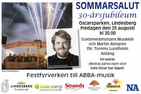 Sommarsaluten i Lindesberg firar 30 år