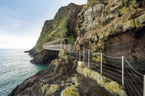 'Bonjour and Bienvenue' to The Gobbins