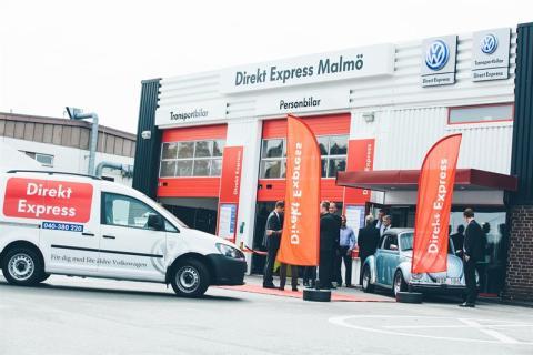 Volkswagens verkstadskoncept Direkt Express – nu även i Malmö