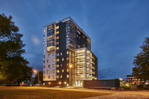 Midroc och HSB Landskrona har utvecklat Västerpark i Landskrona