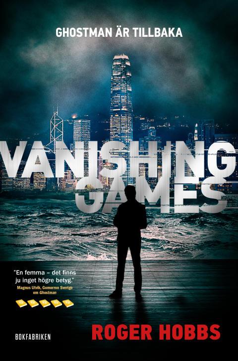 Ghostman är tillbaka – nu släpps Roger Hobbs efterlängtade uppföljare Vanishing games