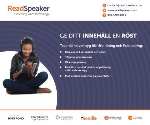 Lyssna och lär med ReadSpeaker på SETT!