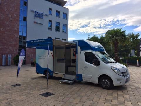 Beratungsmobil der Unabhängigen Patientenberatung kommt am 23. Oktober nach Neustadt an der Weinstraße.