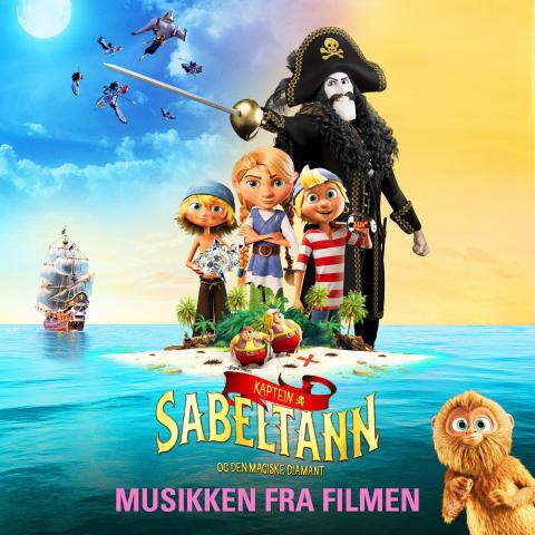 Kapten Sabeltann og Den Magiske Diamant (artwork)
