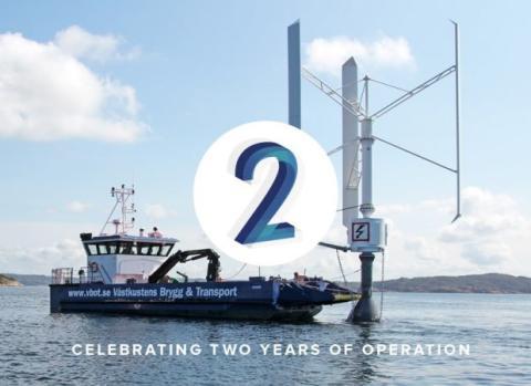 Seatwirl firar två år i drift - grattis SEATWIRL S1!