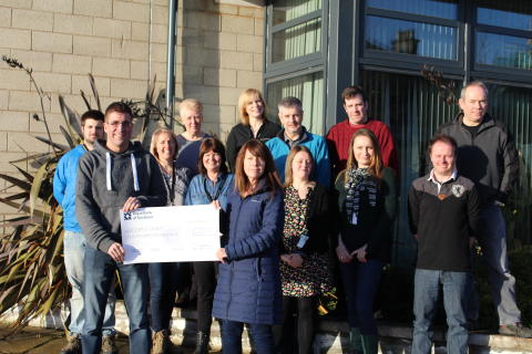 Moray Council staff raise over £2,000 for Keiran's Legacy