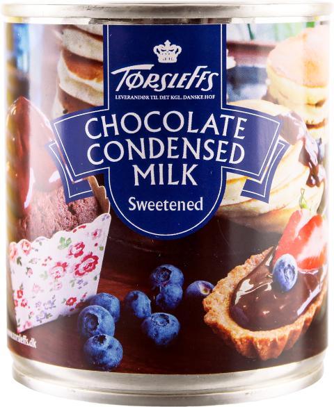 Törsleffs Kondenserade mjölk, choklad