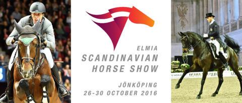 Elmia Scandinavian Horse Show den 26-30 oktober