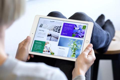 Digitala tjänster i framkant när Poseidon lanserar ny webb